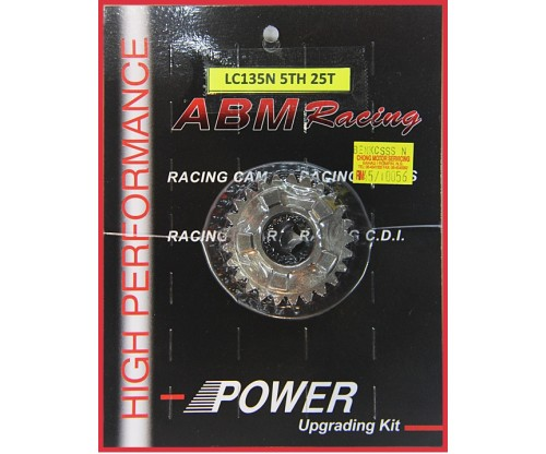 ABM - LC135 5S 5th Race Gear (25T)
