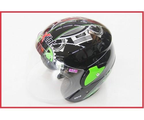 X-DOT Visor Helmet