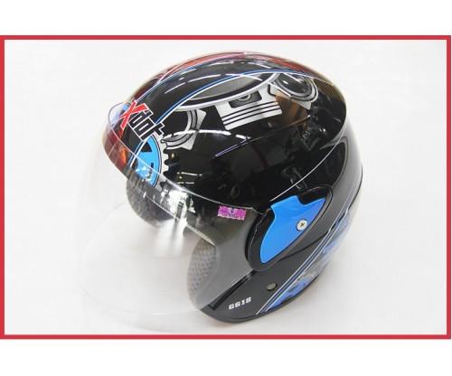 X-DOT - Visor Helmet