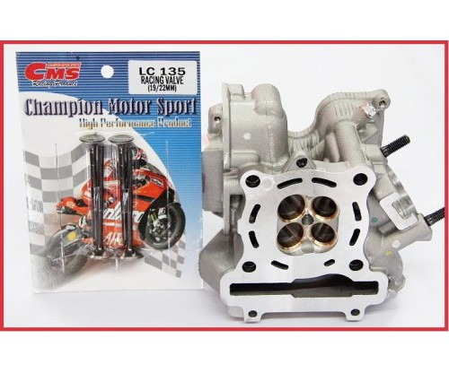 CMS - LC135 Racing Cylinder Head