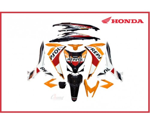 Wave Dash - Repsol Body Cover Set & Stripe Original