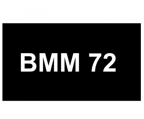 [VIP Number] - BMM 72