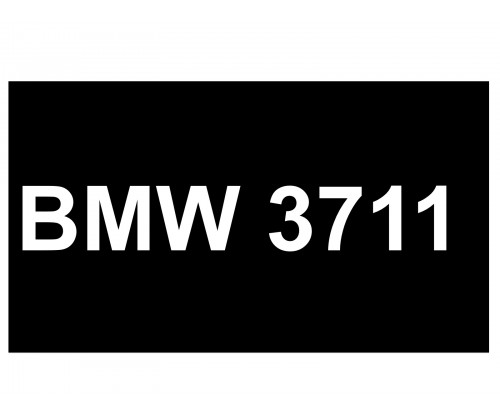 [VIP Number] - BMW 3711