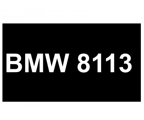 [VIP Number] - BMW 8113