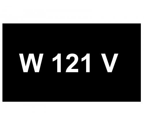 [VIP Number] - W 121 V