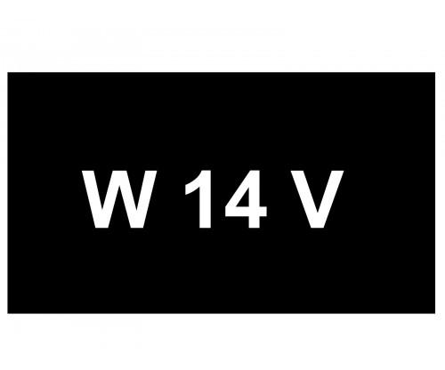[VIP Number] - W 14 V