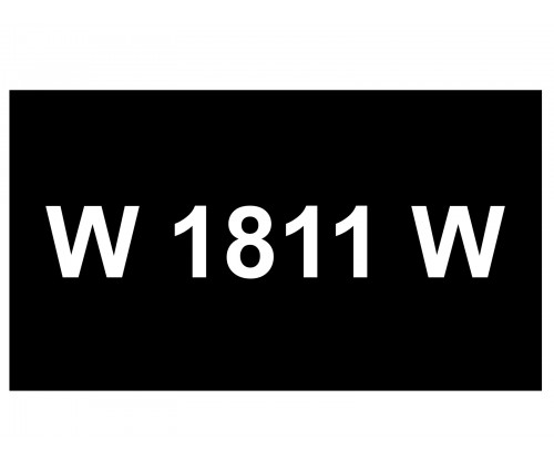 [VIP Number] - W 1181 W