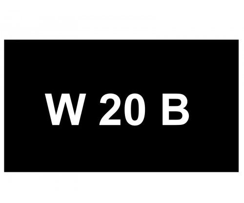 [VIP Number] - W 20 B