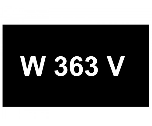 [VIP Number] - W 363 V