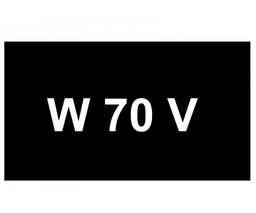 [VIP Number] - W 70 V