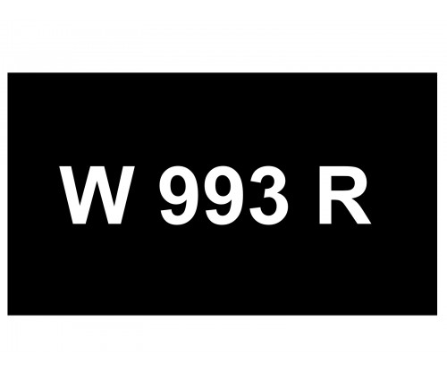 [VIP Number] - W 993 R