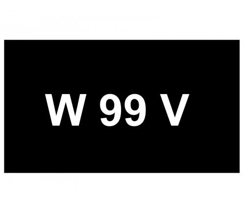 [VIP Number] - W 99 V