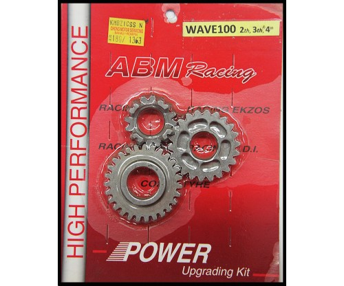 ABM - Wave100 2nd, 3rd, 4th Gear