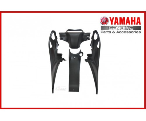 Y125ZR - Black Cover Set (HLY)