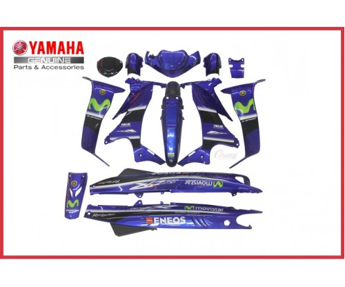 Y125ZR - Movistar Body Cover Set