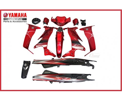 Y125ZR - Body Cover Set (HLY)