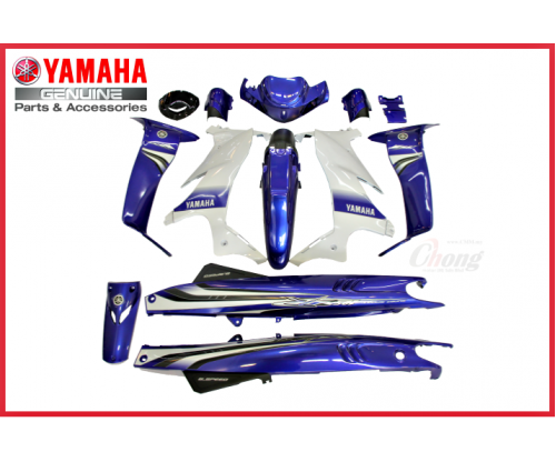 Y125ZR - Body Cover Set GP (HLY)