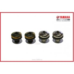 Y125ZR - Muffler Protector Screw Set (HLY)