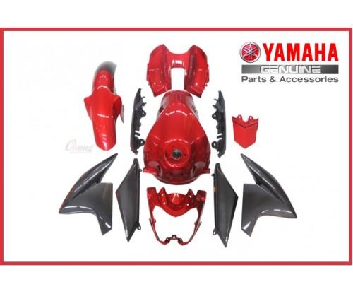 FZ150 FI - Body Cover Set Red (HLY)