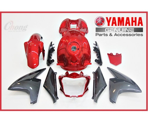 FZ150 FI - Body Cover Set Red (HLY)