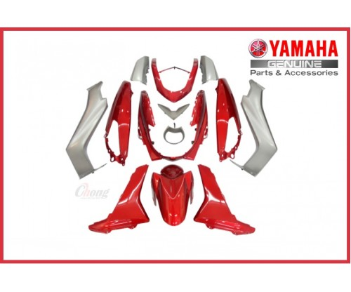 NMAX - Body Cover Set Red (HLY)