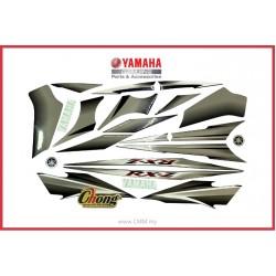 RXZ Catalyser - Hitam Skala Body Stripe (HLY)
