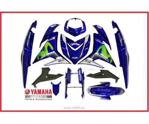 Y15ZR - 2015 Movistar Body Cover Set & Stripe (HLY)