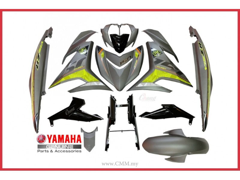Y15ZR V2 - Body Cover Set & Body Stripe MNM3 (HLY)