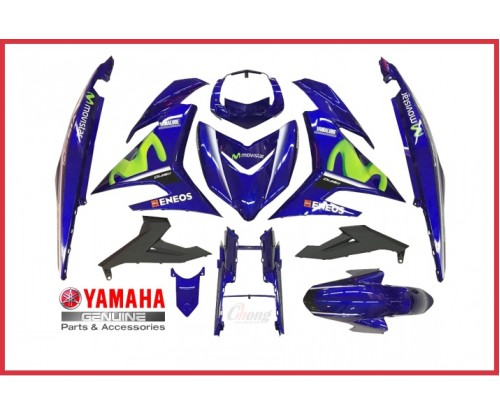 Y15ZR - 2017 Movistar Body Cover Set & Body Stripe  (HLY)