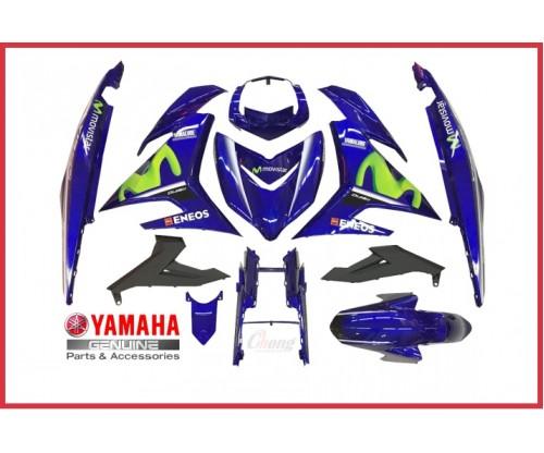 Y15ZR - 2017 Movistar Body Cover Set & Body Stripe  (HLY)