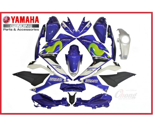YZF R25 - Movistar Body Cover Set (HLY)